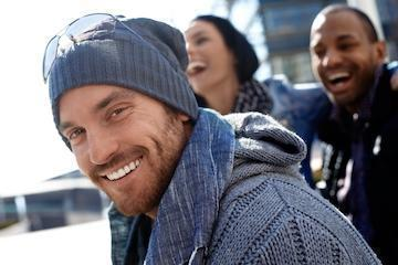 man with ski cap smiling | Counseling Seattle WA