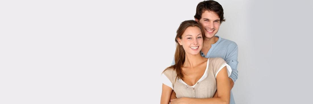 Young couple smiling | Seattle Couples Counselor